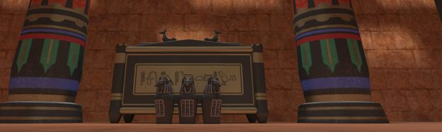 Teaching Ancient Egypt Temples in VR