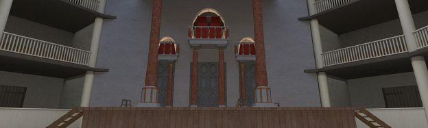 Shakespear globe playhouse history in VR