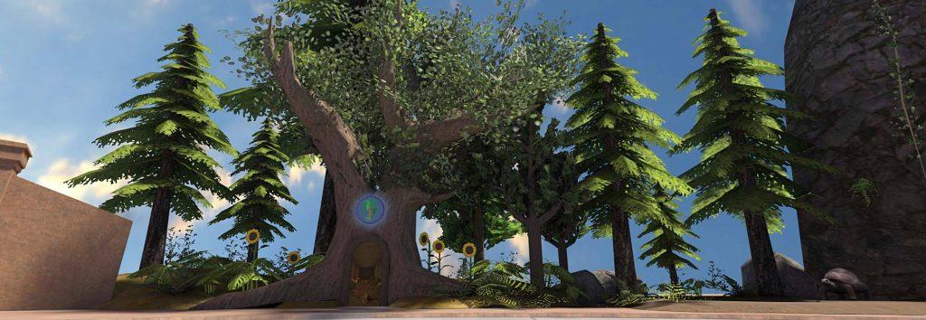 Teaching plants & trees in VR