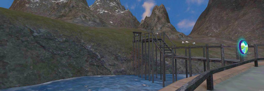 Teaching streams, rivers & oceans in VR