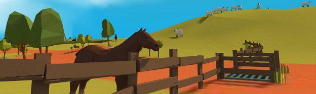Teaching countryside habitat in VR