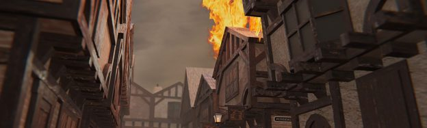 Great fire of London history in VR