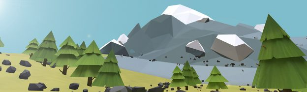Teaching mountain range habitat in VR
