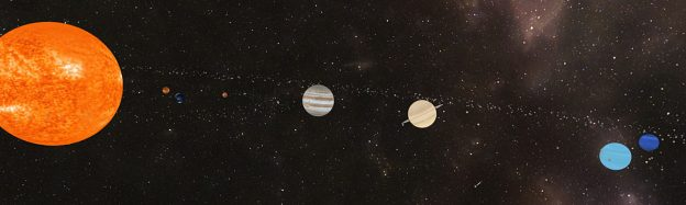 Teaching the Solar System space in VR