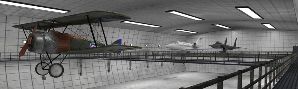 Teaching flight planes in VR