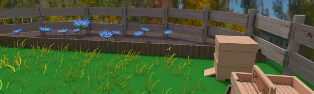 Flower & plant pollination lesson in VR