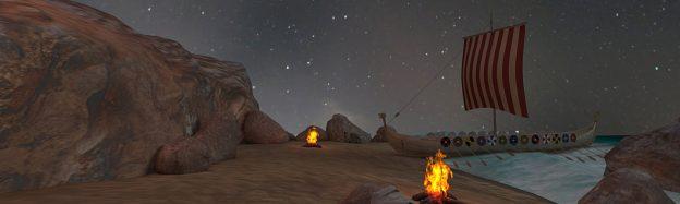 Viking ship history in VR