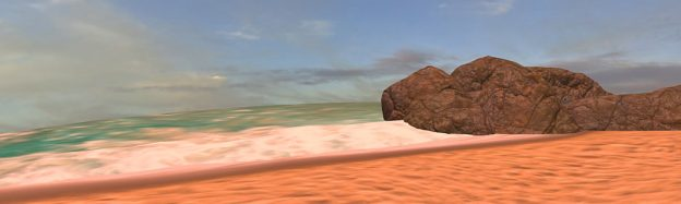 Teaching sand beaches in VR