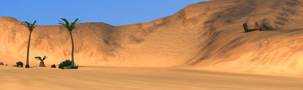 Learning desert sandunes in VR