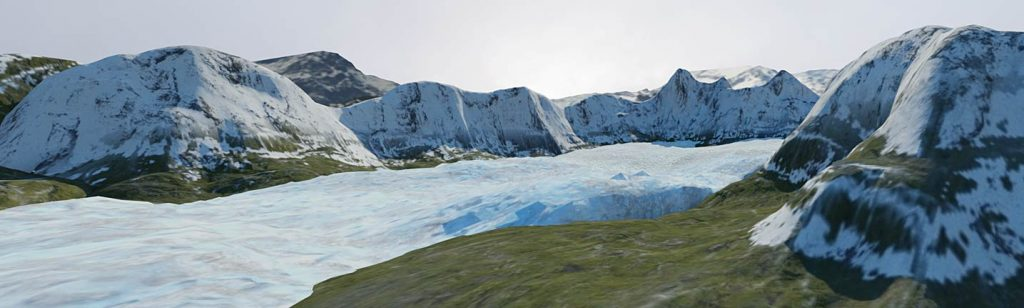 Teaching Glaciers in VR