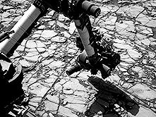 Robotic arm on Mars Curiosity