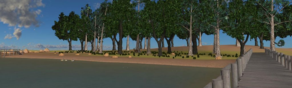 Teaching the Mississippi River in VR