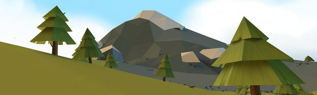 Experiencing mountain ranges in VR