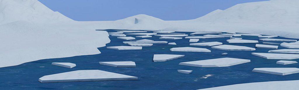 Teaching polar landscapes in VR