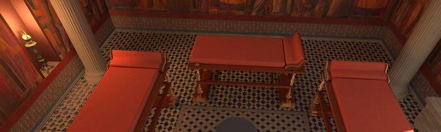 Teaching Roman Villa history in VR