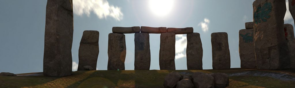 Teaching stonehenge history in VR