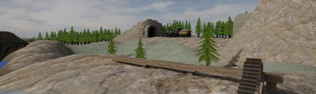 Learning about the Californian Gold Rush in VR